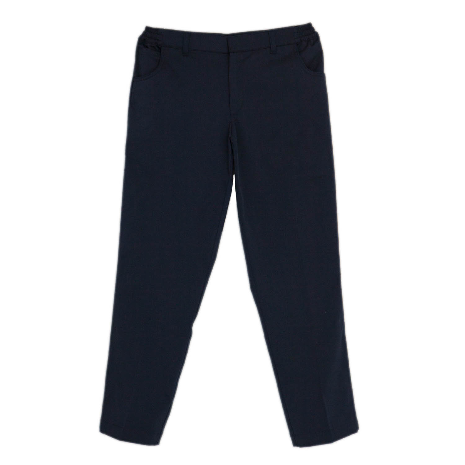 Boys Navy Blue Trouser Slim Cut Boys