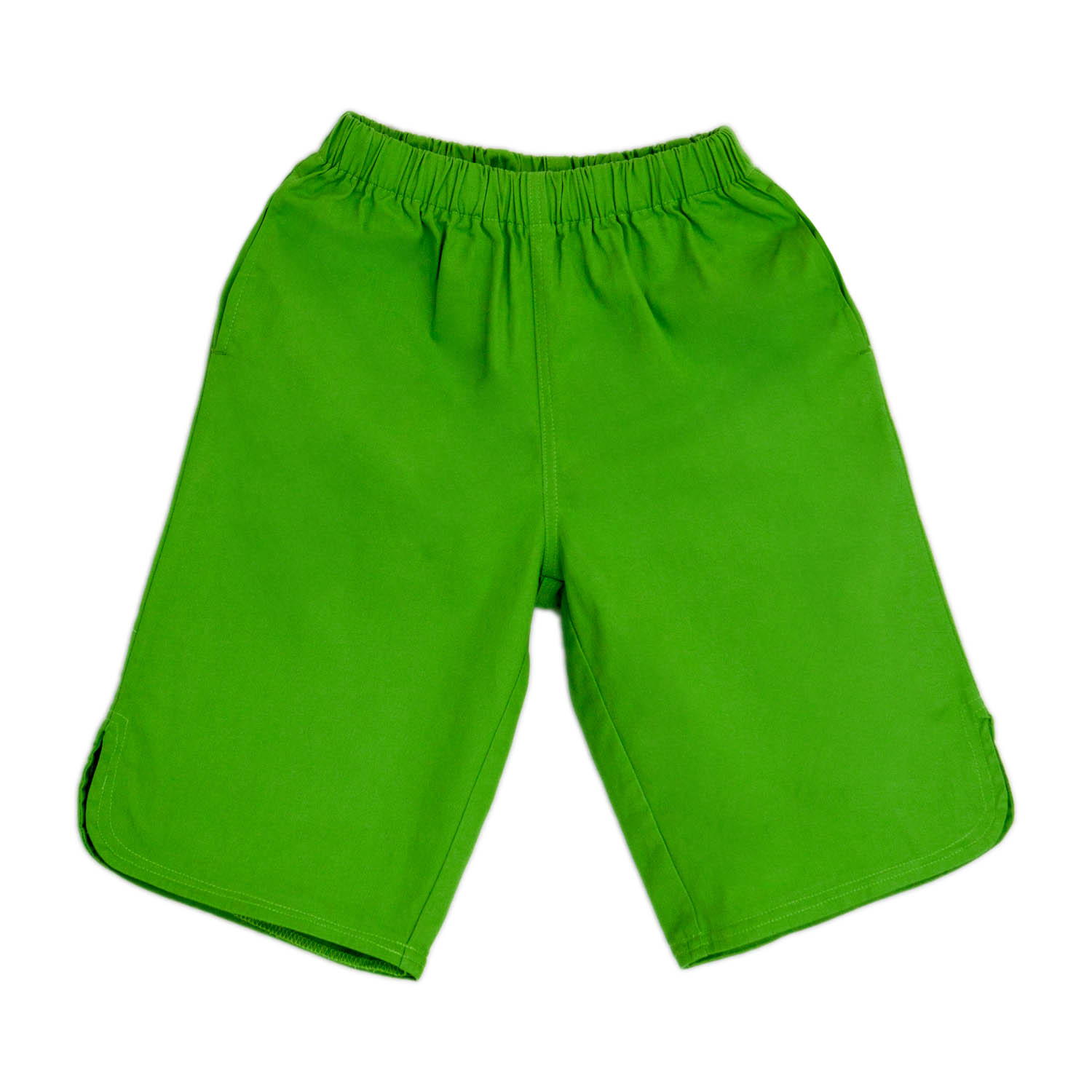 Boys Pe Lycra Green Bermuda Short