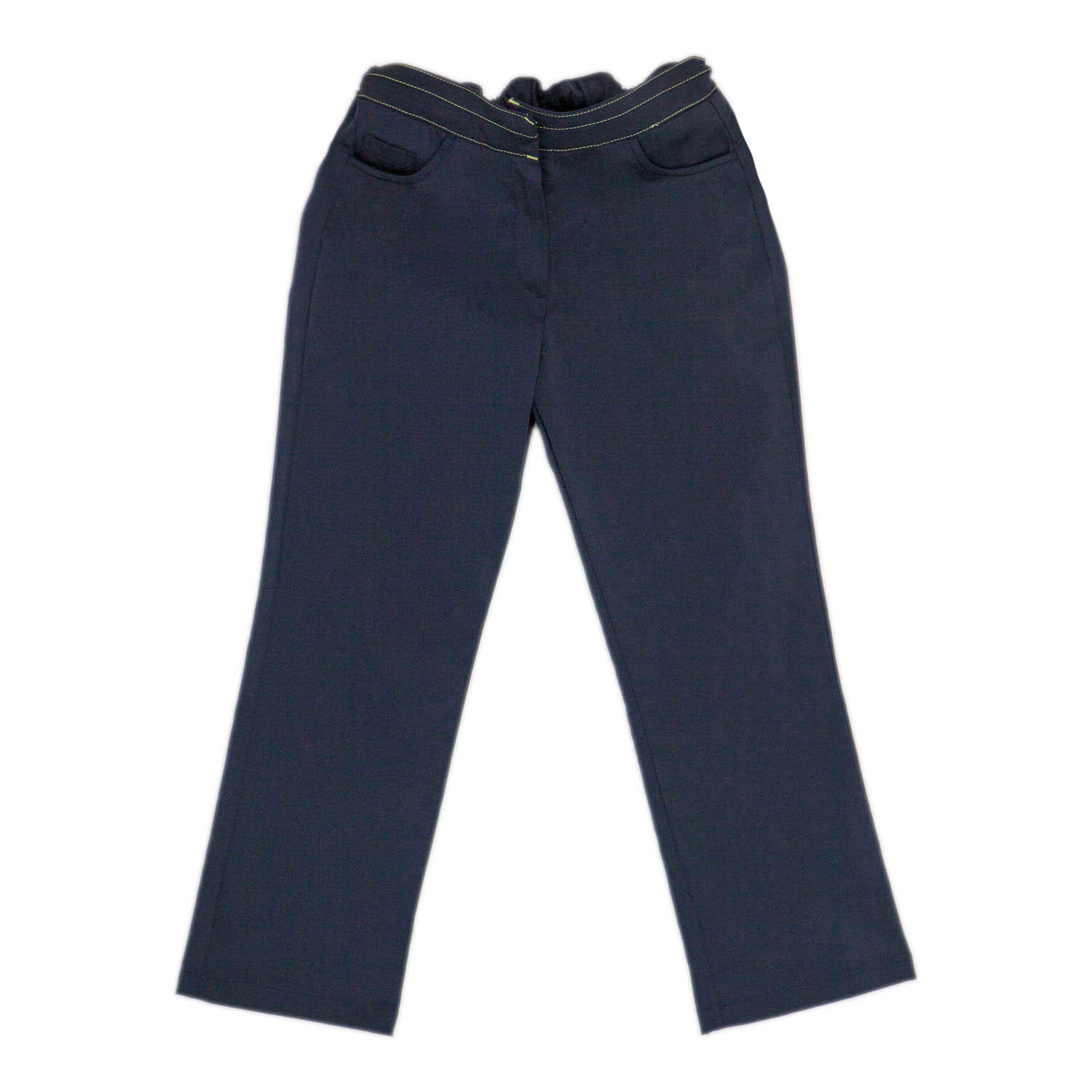 Girls Navy Blue Trouser