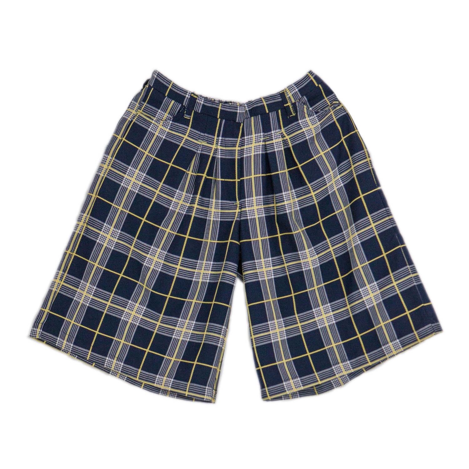 Girls Tartan Divided Skirt
